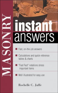 Masonry Instant Answers (Instant Answer Series)