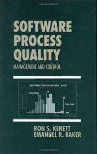 Software Process Quality : Management and Control