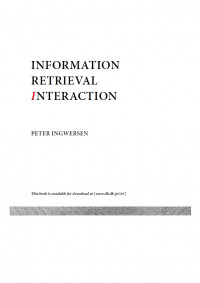 Information Retrieval Interaction