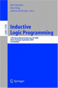 Inductive Logic Programming: 14th International Conference, ILP 2004, Porto, Portugal, September 6-8, 2004