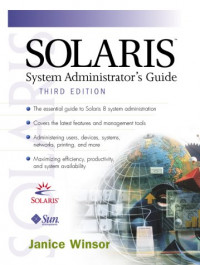 Solaris System Administrator's Guide (3rd Edition)