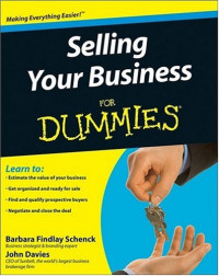 Selling Your Business For Dummies (Business & Personal Finance)