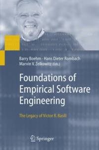 Foundations of Empirical Software Engineering: The Legacy of Victor R. Basili