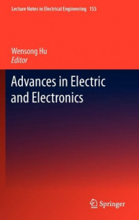 Advances in Electric and Electronics (Lecture Notes in Electrical Engineering)