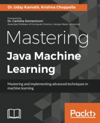 Mastering Java Machine Learning: Mastering and implementing advanced techniques in machine learning