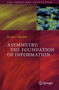 Asymmetry: The Foundation of Information (The Frontiers Collection)