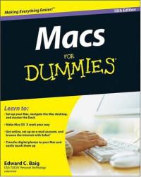 Macs For Dummies (Computer/Tech)