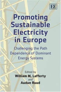 Promoting Sustainable Electricity in Europe: Challenging the Path Dependence of Dominant Energy Systems