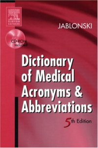 Dictionary of Medical Acronyms & Abbreviations (5th Edition)