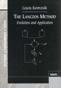 The Lanczos Method: Evolution and Application (Software, Environments and Tools)