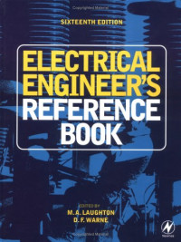 Electrical Engineer's Reference Book, Sixteenth Edition