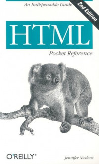 HTML Pocket Reference (2nd Edition)