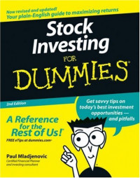 Stock Investing For Dummies (Business & Personal Finance)
