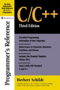 C/C++ Programmer's Reference, Third Edition