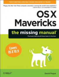 OS X Mavericks: The Missing Manual (Missing Manuals)