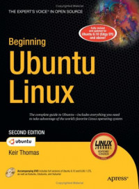 Beginning Ubuntu Linux, Second Edition (Beginning from Novice to Professional)