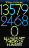 Elementary Theory of Numbers (Dover books on advanced mathematics)