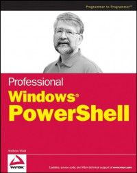 Professional Windows PowerShell (Programmer to Programmer)