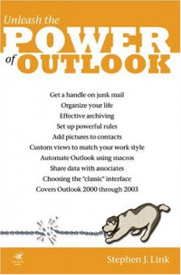 LINK'EM UP On Outlook (Outlook0 2000, 2002, 2003. On Office series)