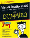 Visual Studio 2005 All-In-One Desk Reference For Dummies (Computer/Tech)