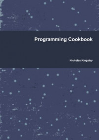 Programming Cookbook
