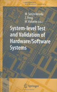 System-level Test and Validation of Hardware/Software Systems (Springer Series in Advanced Microelectronics)