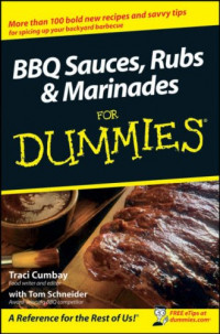 BBQ Sauces, Rubs & Marinades For Dummies (Cooking)