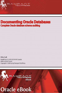 Documenting Oracle Databases_ Complete Oracle Database Schema Auditing