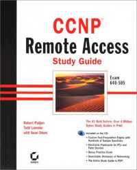 CCNP Remote Access Study Guide Exam 640-505 (With CD-ROM)