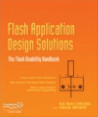 Flash Application Design Solutions: The Flash Usability Handbook