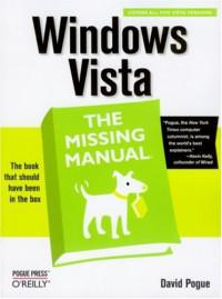 Windows Vista (Missing Manual)