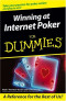 Winning at Internet Poker For Dummies (Computer/Tech)