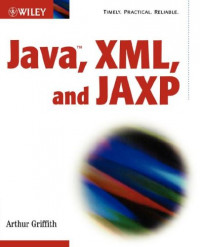 Java, XML, and the JAXP