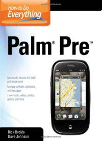 How to Do Everything Palm Pre