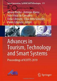 Advances in Tourism, Technology and Smart Systems: Proceedings of ICOTTS 2019 (Smart Innovation, Systems and Technologies)