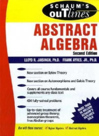 Schaum's Outline of Abstract Algebra (Schaum's Easy Outlines)