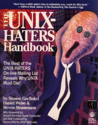 The UNIX Hater's Handbook