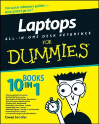 Laptops All-in-One Desk Reference For Dummies (Computer/Tech)