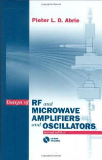 Design of Rf and Microwave Amplifiers and Oscillators (Artech House Microwave Library)
