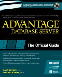 Advantage Database Server: The Official Guide