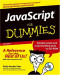 JavaScript for Dummies