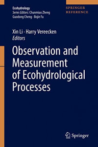Observation and Measurement of Ecohydrological Processes (Ecohydrology)