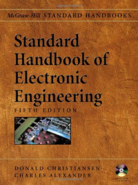 Standard Handbook of Electronic Engineering, Fifth Edition with CD-ROM
