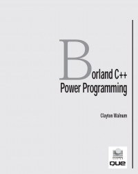 Borland C++ Power Programming/Book and Disk