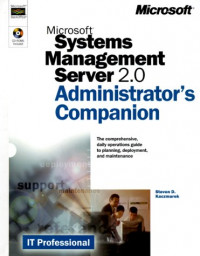 Microsoft(r) Systems Management Server 2.0 Administrator's Companion