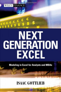 Next Generation Excel: Modeling in Excel for Analysts and MBAs (Wiley Finance)