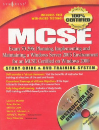 MCSE Exam 70-296 Study Guide and DVD Training System