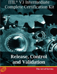 ITIL V3 Release, Control and Validation (RCV) Full Certification Online Learning and Study Book Course