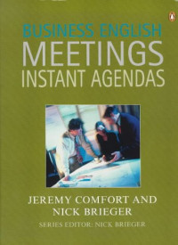 Business English Meetings Instant Agendas (Penguin English)
