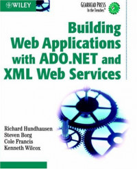 Building Web Applications with ADO.NET and XML Web Services (Gearhead Press--In the Trenches)